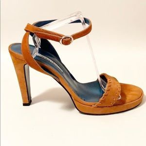 Charles David | Ankle Strap Heeled Sandal 9B